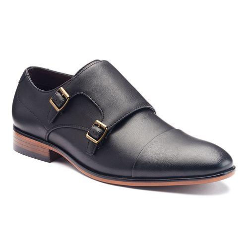 Apt. 9® Men's Cap-Toe Monk Strap Shoes