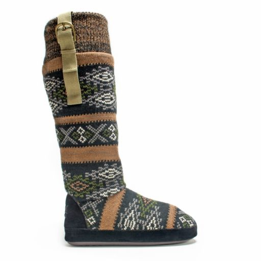 MUK LUKS Women's Angela Boot Slippers
