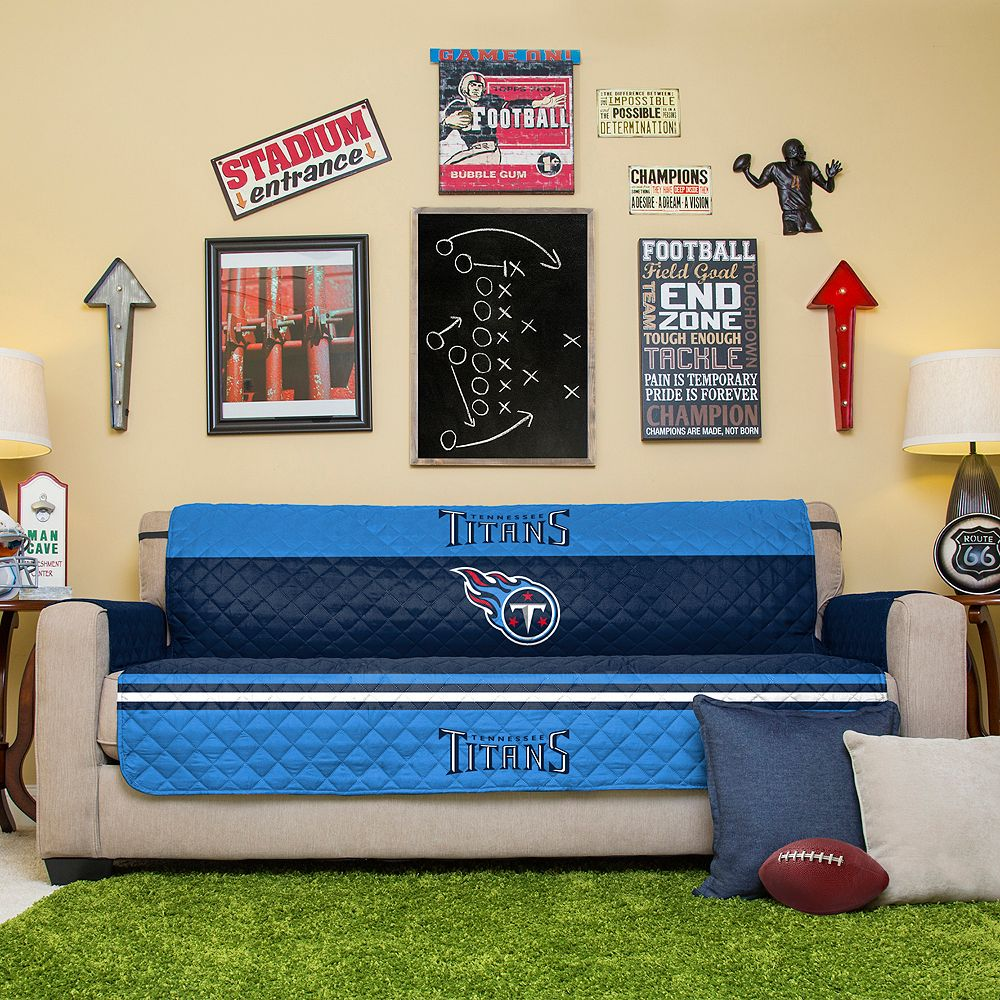 Cool Tennessee Titans Quilted Sofa Cover Uwap Interior Chair Design Uwaporg