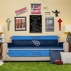Tennessee Titans Quilted Sofa Cover