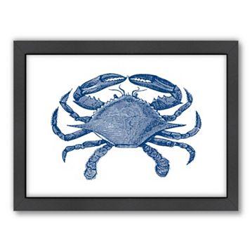 Americanflat Crab Quad 2 Framed Wall Art
