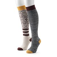Women's Unionbay 2 pkKnee-High Socks