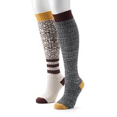 Women's Unionbay 2-pk. Knee-High Socks