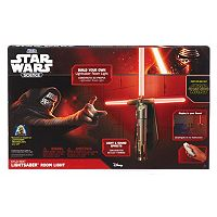 Star Wars Science Kylo Ren Lightsaber Room Light by Uncle Milton