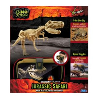 Virtual Explorer Jurassic Safari Set by Uncle Milton