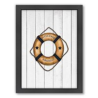 Americanflat Lifesaver Framed Wall Art