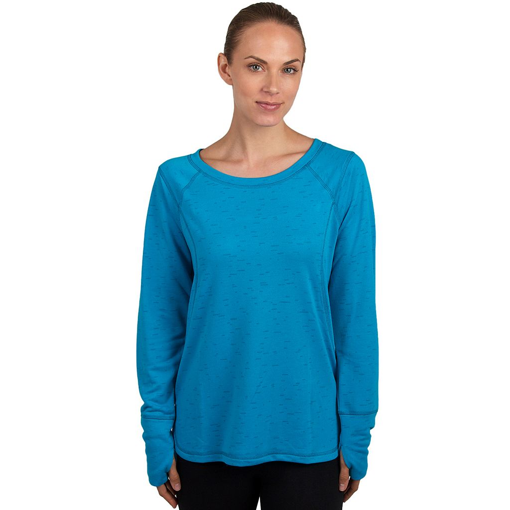 Women's Jockey Sport Kinetic High Low Yoga Top