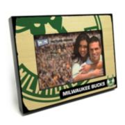 "Milwaukee Bucks 4"" x 6"" Wooden Frame"