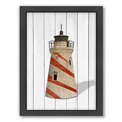 Americanflat Lighthouse Framed Wall Art
