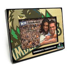 Minnesota Timberwolves 4' x 6' Wooden Frame