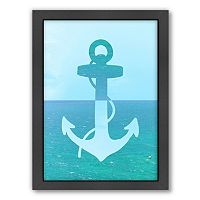 Americanflat Ocean Anchor Framed Wall Art