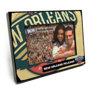 "New Orleans Pelicans 4"" x 6"" Wooden Frame"