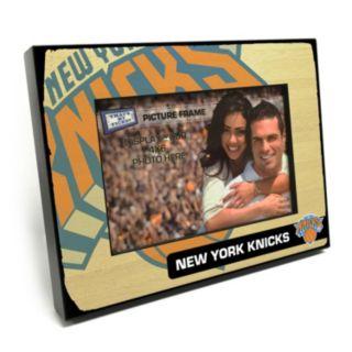 "New York Knicks 4"" x 6"" Wooden Frame"