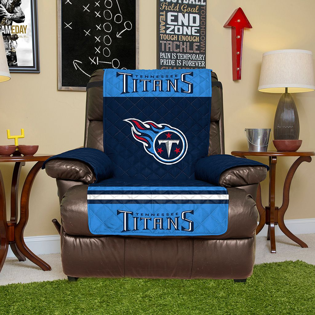 Tennessee Titans Quilted Recliner Chair Cover