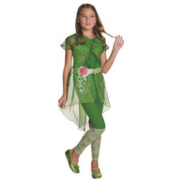 Kids DC Super Hero Girls Poison Ivy Deluxe Costume