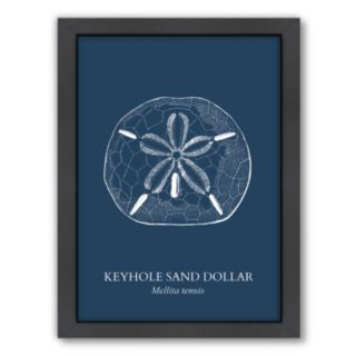Americanflat Sand Dollar Framed Wall Art