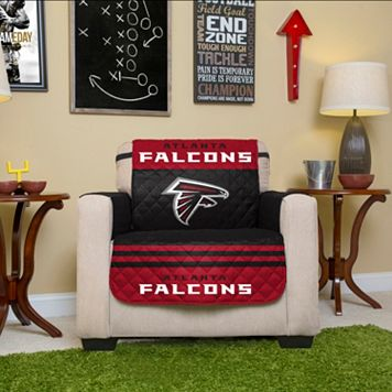 Atlanta Falcons Quilted Chair Cover
