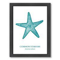 Americanflat Starfish Framed Wall Art