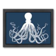 Americanflat Octopus Framed Wall Art