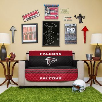 Atlanta Falcons Quilted Loveseat Cover