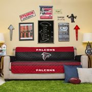 Atlanta Falcons Quilted Sofa Cover