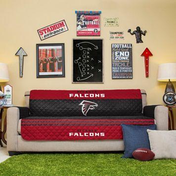 Atlanta Falcons Quilted Sofa Cover