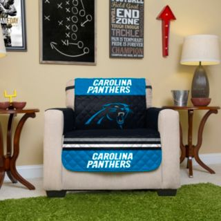 Carolina Panthers Quilted Chair Cover