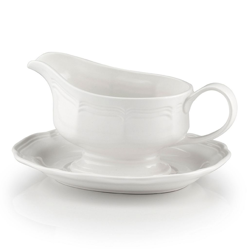 Mikasa French Countryside 2-pc. Gravy Boat Set