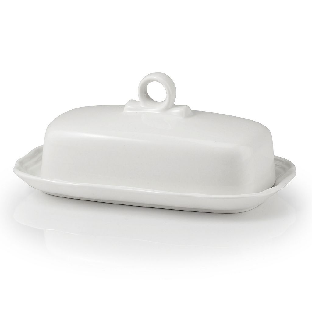 Mikasa French Countryside Covered Butter Dish