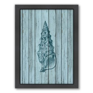 Americanflat Wood Shell 5 Framed Wall Art
