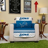 Detroit Lions Quilted Chair Cover