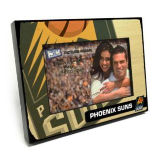 """Phoenix Suns 4"""" x 6"""" Wooden Frame"""