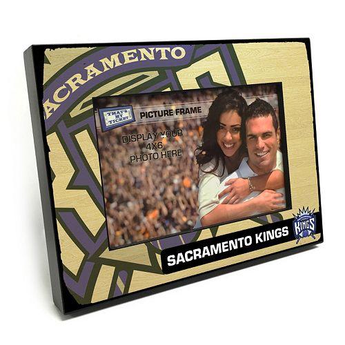 "Sacramento Kings 4"" x 6"" Wooden Frame"