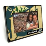 "Utah Jazz 4"" x 6"" Wooden Frame"