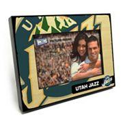 Utah Jazz 4' x 6' Wooden Frame