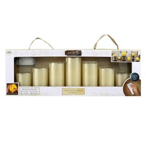 Apothecary & Company 7-pc. LED Flameless Candle Set with Remote