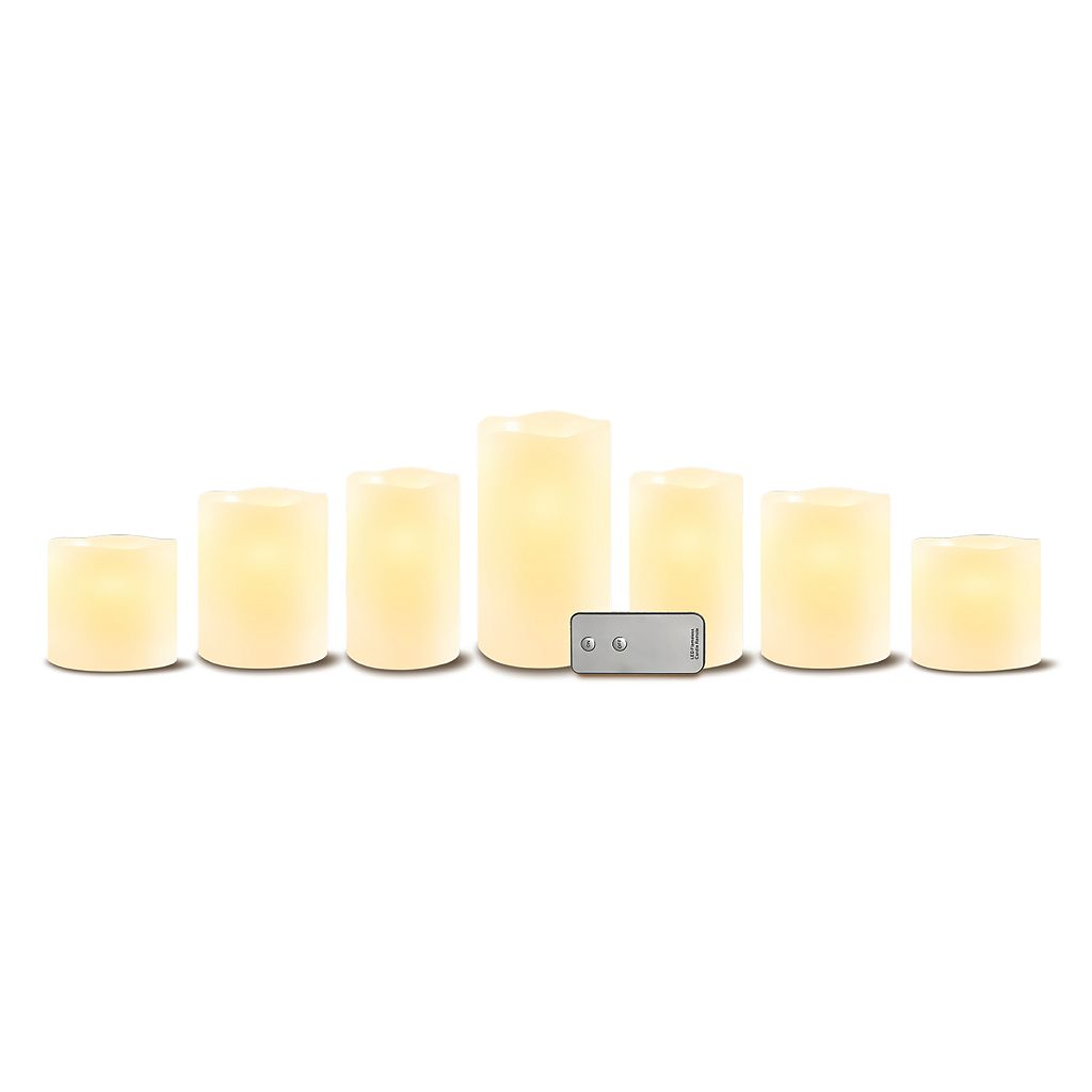 Apothecary Flameless LED Candle 8-piece Set