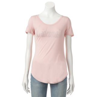 Women's Juicy Couture Embellished Bridesmaid Tee