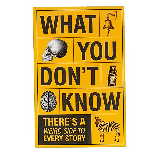"""""""What You Think You Don't Know"""" Book by Publications International, Ltd."""