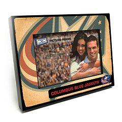 Columbus Blue Jackets Vintage 4' x 6' Wooden Frame