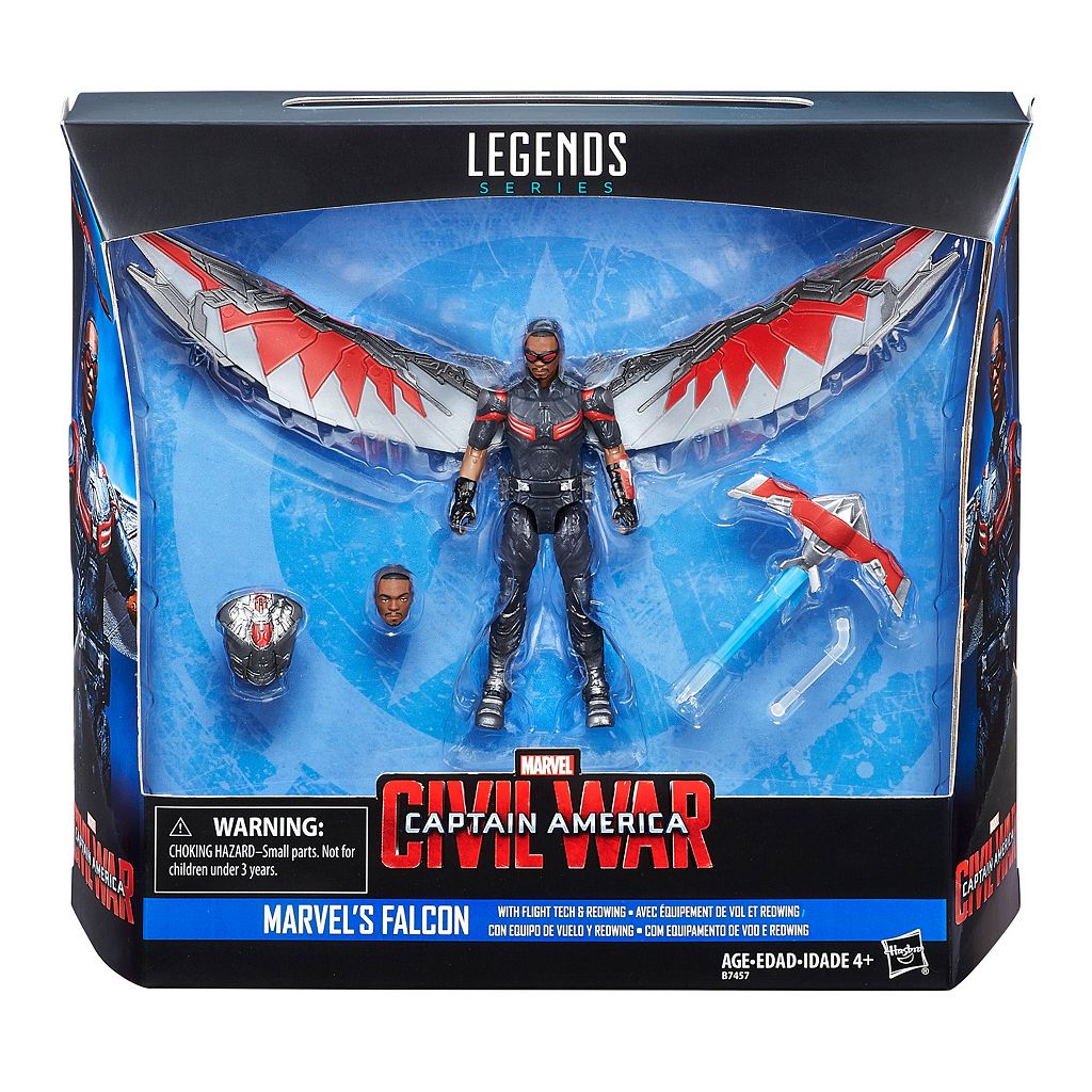 Marvel Legends Series Marvel's Falcon Flight Tech & Redwing