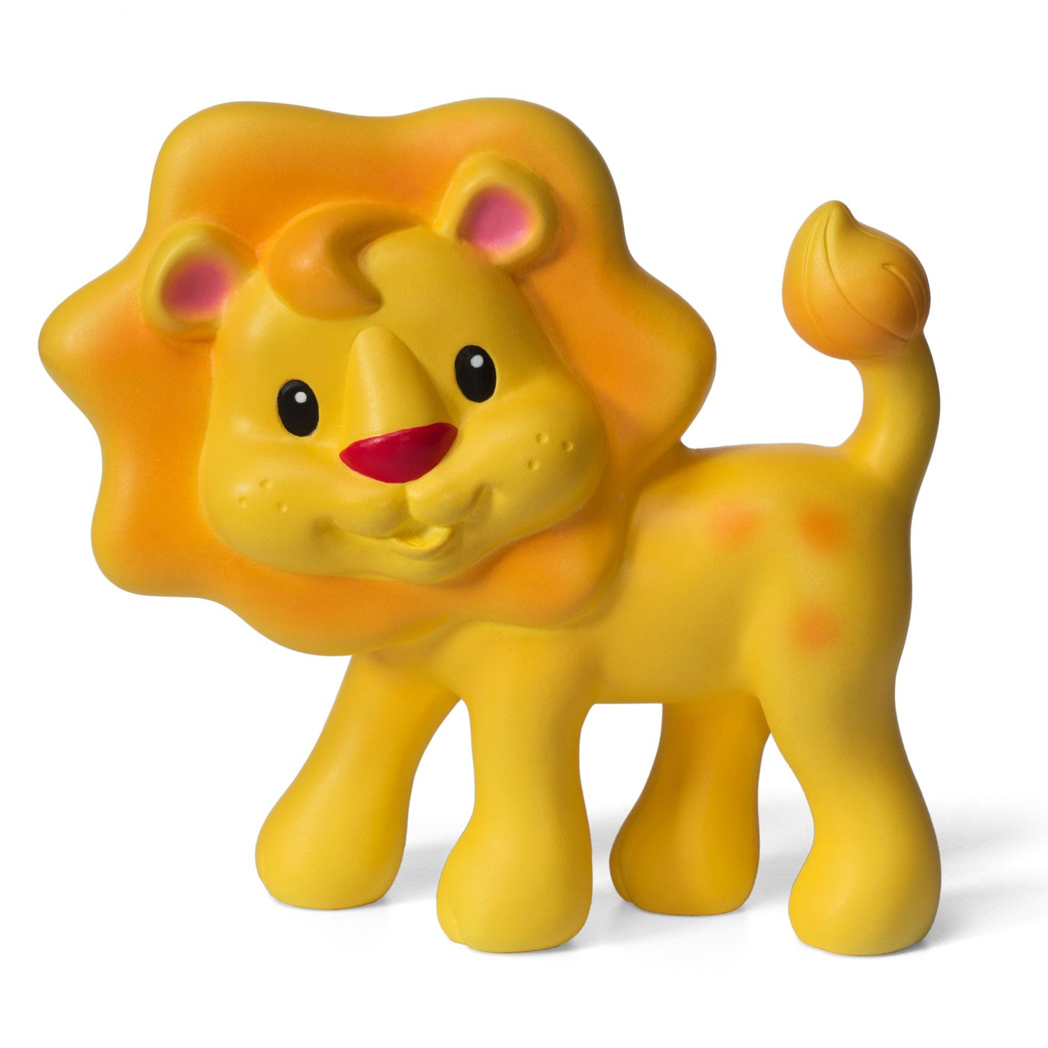 Infantino Squeeze U0026 Teethe Animal Boxed Collection. Yellow Lion