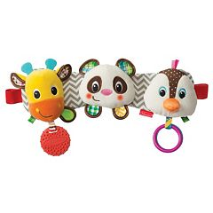 Infantino Stretch & Play Musical Travel Trio Activity Toy