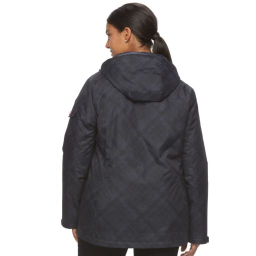 Plus Size Free Country Faux-Fur 3-in- 1 Systems Jacket