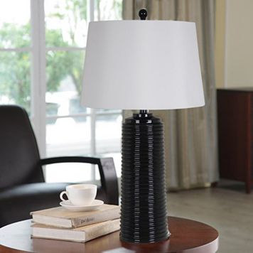 Catalina Crimped LED Table Lamp