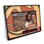"""New Jersey Devils Vintage 4"""" x 6"""" Wooden Frame"""