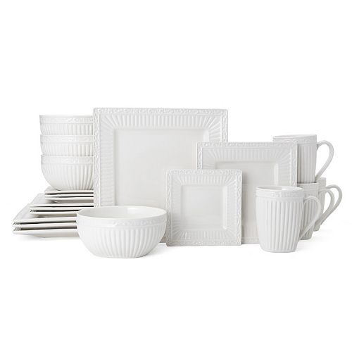 Mikasa Italian Countryside 20-pc. Square Dinnerware Set