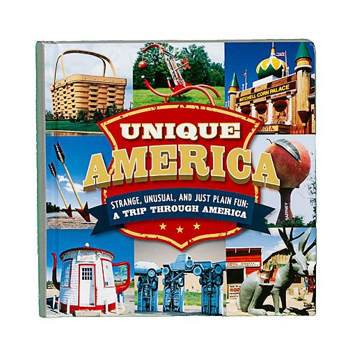"Publications International, Ltd. ""Unique America"" Book"