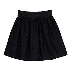 Girls 7-16 IZ Amy Byer Lace Skater Skirt