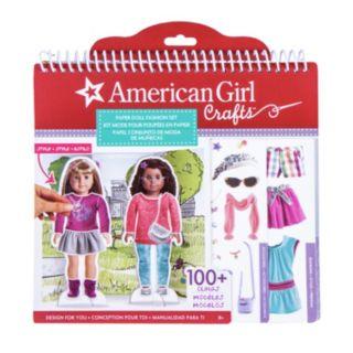 American Girl Paper Doll Fashion Stylist Set by Fashion Angels